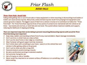 Friar Flash 12 05 14