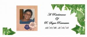 Susan remembrance