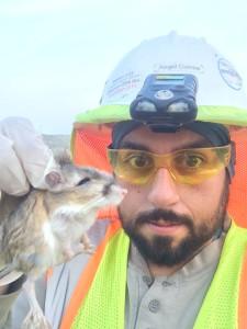 Angel Correa and kangaroo rat