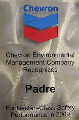 2009 Chevron Environmental Management Company Award