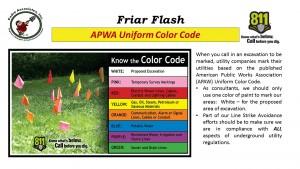 FF 9-16-16 APAW Color Code