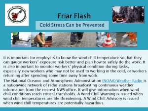 FF 10-31-16 Cold Weather