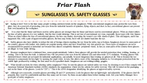 FF 3-21-17 Sunglasses vs safety